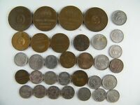 Lote 32 Monedas Suecia Fechas diferentes de 1 a 25 Ore | World Coins