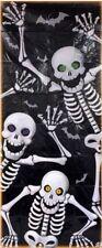 """Halloween Skeleton Decoration Door Cover 30"""" x 72"""" w"""
