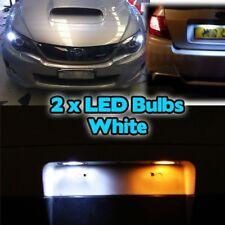 Lado de la luz bombillas 501 T10 Subaru Impreza Sti Wrx Forester 50 5smd Led Xenon Blanco
