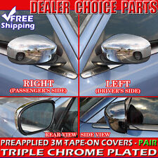 2006-2010 Dodge Charger Chrome Mirror COVERS Trims Overlays for Painted Mirrors