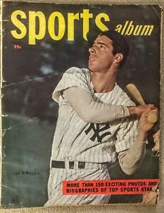 Vintage Sports Album 1948 New York Yankees' Joe DiMaggio