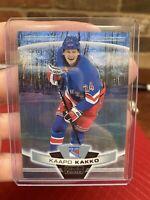 2019-20 OPC Platinum Kaapo Kakko Pond Hockey Rookie Super Short Print SSP