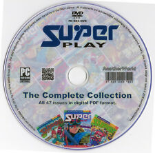 SUPER PLAY Magazine Collection on Disk Every Issue SNES Nintendo Games