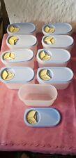 9x Streu und Schüttdose Aufbwahrungsdose Kunststoff Vorratsgefäße