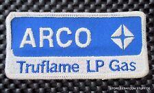 "ARCO TRUFLAME LP GAS PATCH ATLANTIC RICHFIELD OIL COMPANY LOGO 4 1/4"" x 2"""