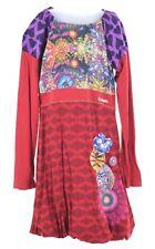 DESIGUAL Girls Dress 13-14 Years Multi Cotton