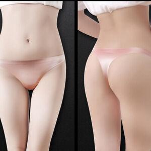 3PCS Women Silky Thongs T-back Underwear Seamless Soft Thin Comfort Sex Lingerie