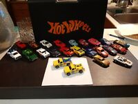 1974 HOT WHEELS LARRY'S TOW/ AAA 24HR N/P LOT OF 2. RARE! LOOK!
