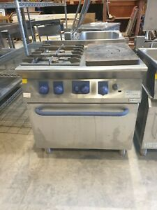 ELECTROLUX GAS 2 BURNER & SOLID TOP RANGE WITH OVEN