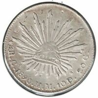 1890 M.M MEXICO 8 REALES