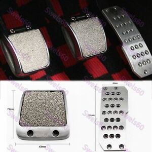 For Honda Accord Civic Del Sol Fit RSX Mugen Car Foot Rest Fuel Brake MT Pedals