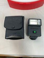 EUC Asahi Pentax AF200T Camera Flash w/ Soft Case - Tested & Working