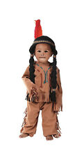Toddler Indian Boy Costume with Wig! Native American Halloween Toddler Size 2-4