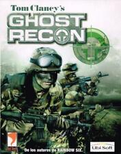 JUEGO PC (ESTRATEGIA SIMULACION ACCION)- GHOST RECON - TOM CLANCY´S -UBI SOFT