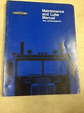 Freightliner Maintenance and Lube Manual (1984), Rare!