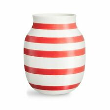 Kähler OMAGGIO Vase H20cm Scarlet