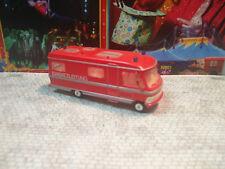 Rietze Hymer 660 MB Wohnmobil Feuerwehr ideal auch für Kirmes Schaustellerwagen