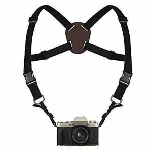 Binocular Harness Strap, Camera Chest Harness with Adjustable Stretchy and