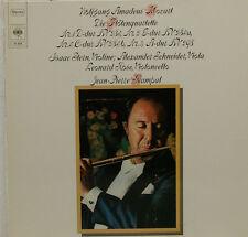 """Mozart la flautí Quartette Stella Schneider ROSE Jean-Pierre Rampal 12"""" LP (c827)"""
