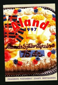 Aland Finland 1997 Year set complete including booklet in official folder. MNH
