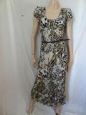 (151MAR) Size 14 *BHS* Chic long print maxi dress