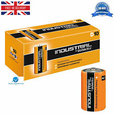 100 Duracell Industrial D MN1300 1.5V Alkaline Professional Performance Battery