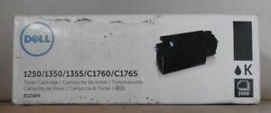 Original Dell 810WH Toner black für 1250 1350 1355 C1760 C1765 OVP A