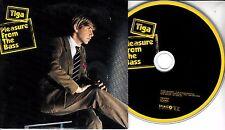 TIGA Pleasure From the Bass 2004 UK 2-trk promo CD