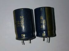2 x 25v 2700uF Capacitors - LCD / PLASMA TV Repair Kit Replacement 10v 16v ESR