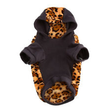 Small Pet Dog Puppy Winter Soft Warm Sweater Hooded Jacket Coat Jumpsuit Apparel