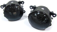 Black smoked finish fog lights for Opel Astra G H OPC Corsa D Agila