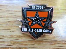 "2002 NHL ALL STAR GAME Los Angeles 1.25"" Pin Eric Daze MVP"
