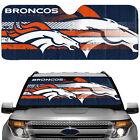 NFL Denver Broncos Sun Shade Windshield Reflective Car Truck Windshield New