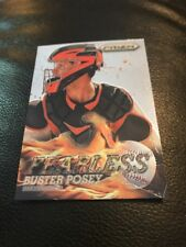 2013 Panini Prizm Buster Posey Fearless Insert Card #F1