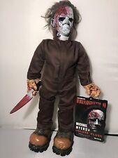 Michael Myers Figure Halloween Mezco Cinema of Fear horror Plush Doll DeluxNew