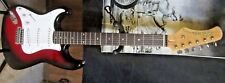 Left Handed Lefty Strat style by Hondo EXCELLENT shape