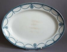 W. Adams & son Medallion Serving Dish Platter Charger Turkey Plate :C5