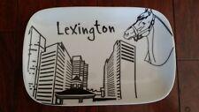 RARE THE DISH LTD LEXINGTON CITY COLLECTION RELISH DISH TRAY KENTUCKY DERBY