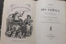 GRANDVILLE: Scenes de la Vie privee et publique des Animaux, First edition 1842