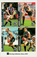 2007 Select AFL Champions Trading Cards Base Card Team Set Port Adelaide(12)