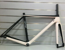 Lightweight Urgestalt Disc 48cm Carbon Road Frameset (Black/Light-pink)