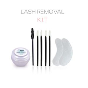 QBS Lash Removal Kit   Eyelash Extension Cream Remover   Remove False Eyelashes