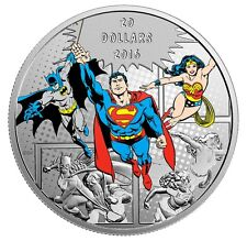 2016 DC Comics – The Trilogy 1oz Silver Proof Coin