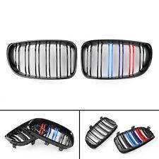 2xGNero Mcolor Front Bumper griglia anteriore Per BMW E81 E82 E87 E88 08-2012 IT
