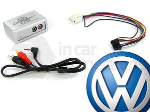 VW AUX input adapter interface Golf Mk6 jack RCD300 RCD500 CTVVGX004 Volkswagen
