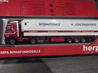 Herpa 142656 MB Kühlsattelzug Spedition Kautetzky- Internationale Kühltransporte
