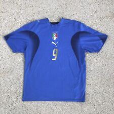 Puma Italia Soccer 2006 Football Jersey Shirt # 9 TONI Large