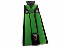 Green Braces for Boys