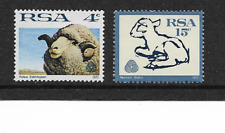 1972 SOUTH AFRICA - Sheep & Lambswool Industry - Very Lightly Mounted Mint.