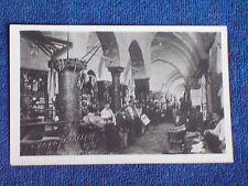 Constantinople Turkey/Interior of Commercial Arcade-Shops-Stalls-People/RPPC